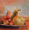Pears in Bowl (Original Sold)