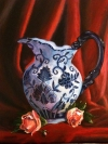 Pitcher with Roses