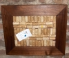 Solid Walnut Framed Corkboard