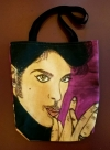 Artist Original Design Bag PURPLE PRINCE