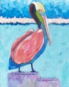 Abstract Pelican