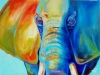 Abstract African Elephant